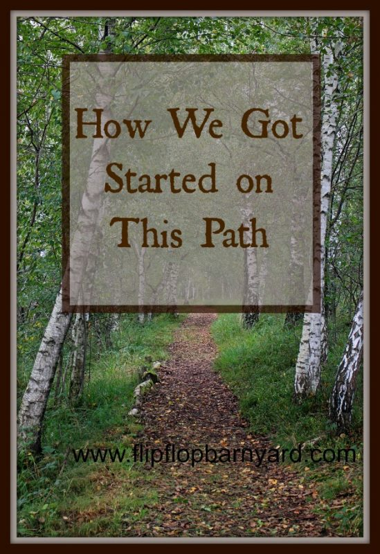 How we got started on our homesteading journey. | www.flipflopbarnyard.com