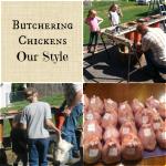 Butchering chickens 101 | www.flipflopbarnyard.com