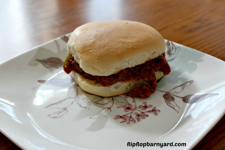 Sloppy joes from scratch