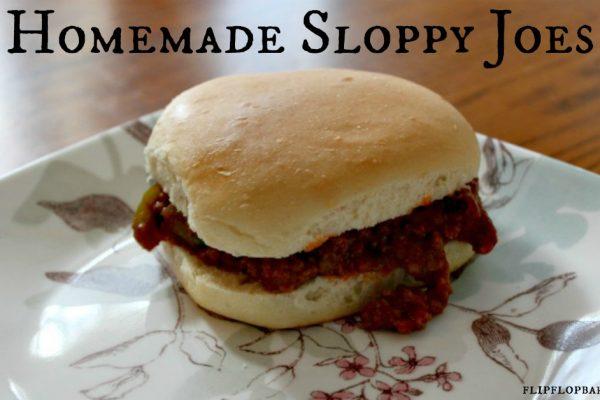 Super Delicious Real Food Sloppy Joe Recipe