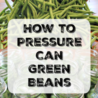 How to Pressure Can Green Beans. via www.flipflopbarnyard.com