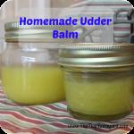 Homemade Udder Balm