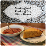 How to soak and cook beans | www.flipflopbarnyard.com