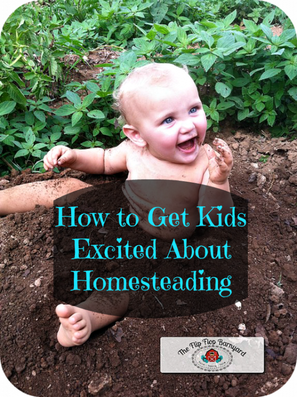 How to Get Kids Excited About Homesteading. I'm often asked how I get my kids on board with homesteading. Here are my tips for getting your children excited about homesteading.