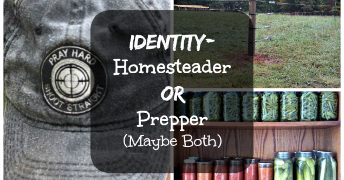 Identity: Homesteader or Prepper? (Maybe Both)