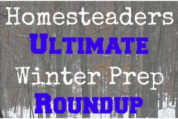 An ultimate roundup of winter prep for homesteaders.