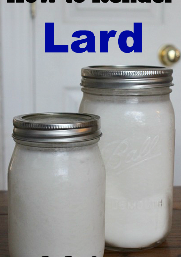 How to Render Lard
