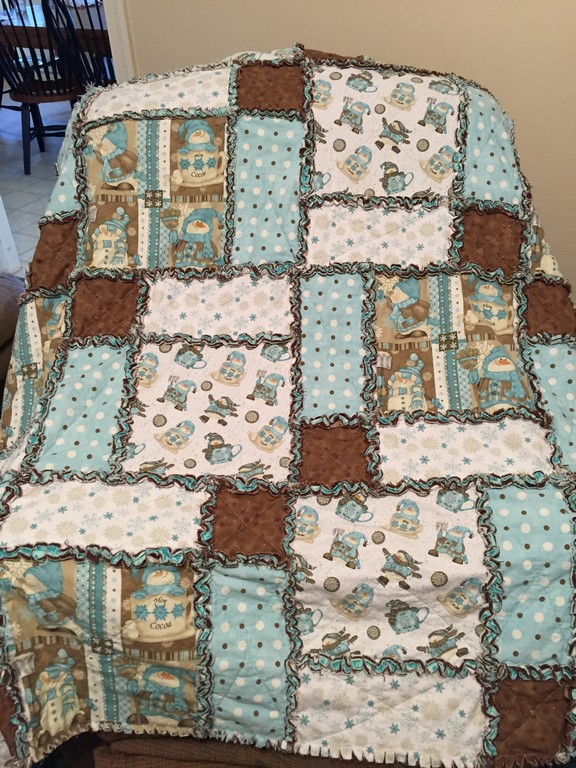 How To Make A Rag Quilt The Flip Flop Barnyard