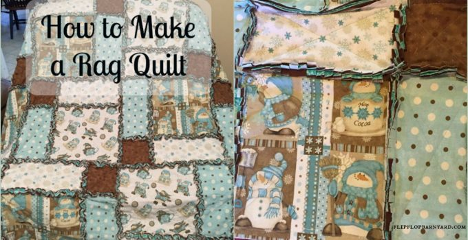 How to make a rag quilt. Rag quilts are simple to make and are great gifts.