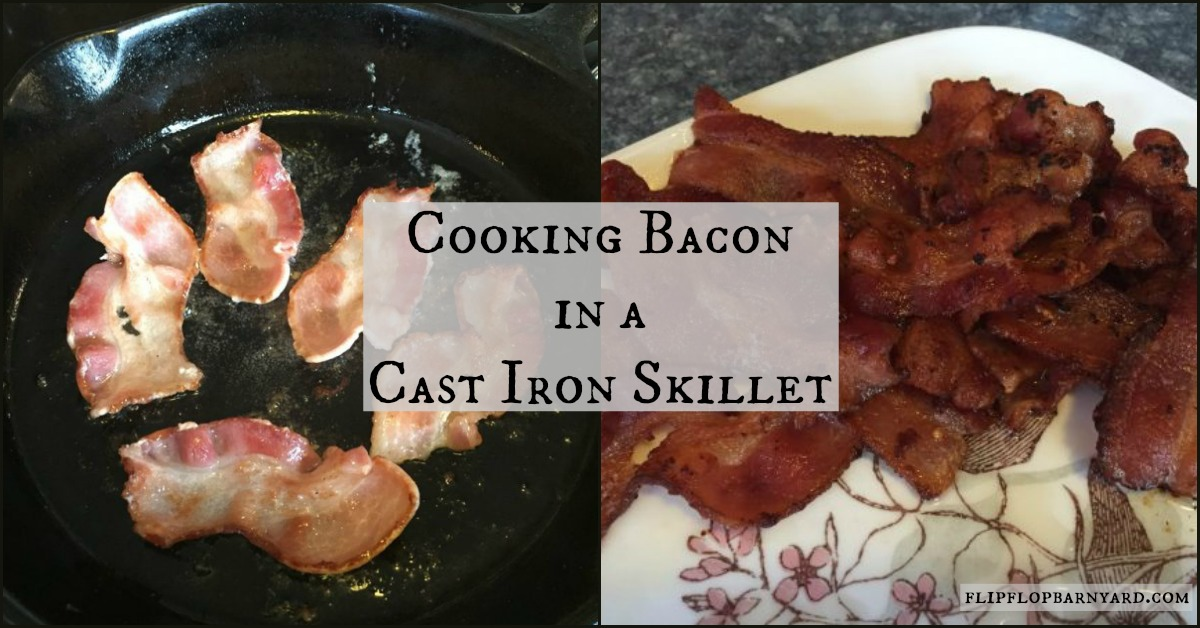 Cooking Bacon In a Cast Iron Skillet