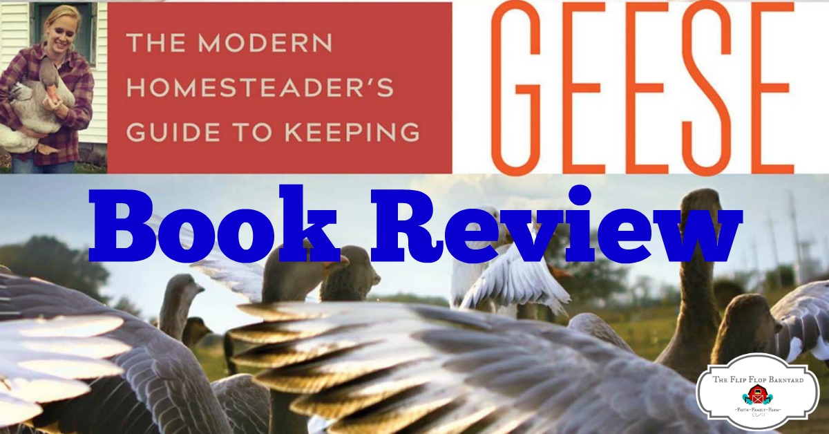 If you want to learn about keeping geese, this is the book for you.