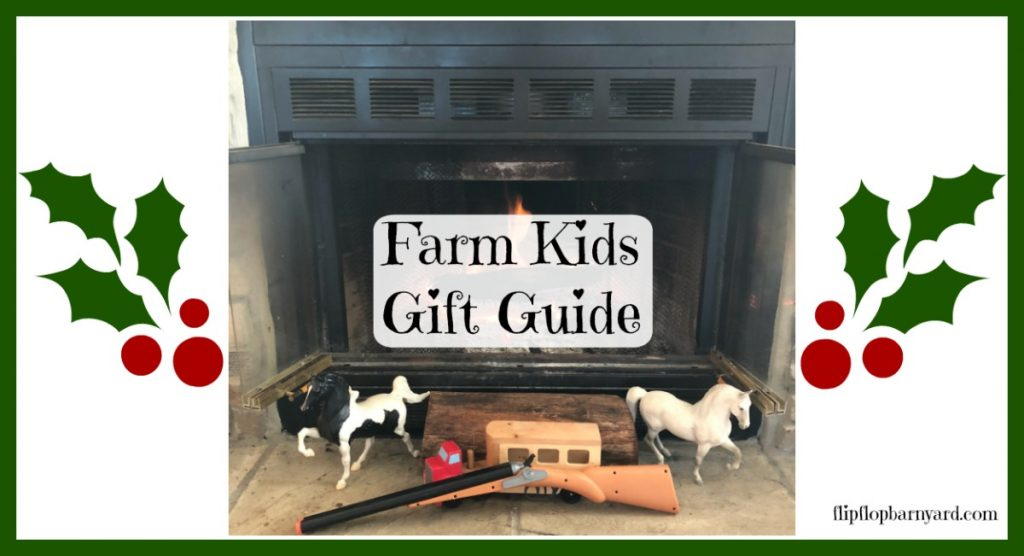 Gifts to buy for farm kids.