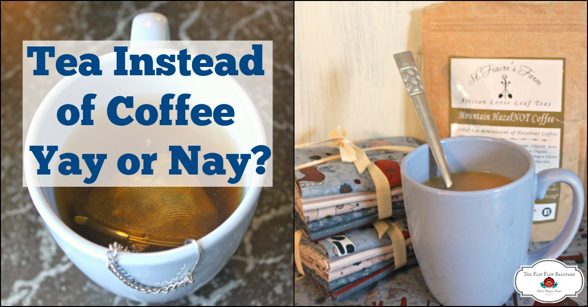 Are you a hot tea drinker? I'm enjoying some hot tea these days. I haven't given up my coffee but I do love some tea!