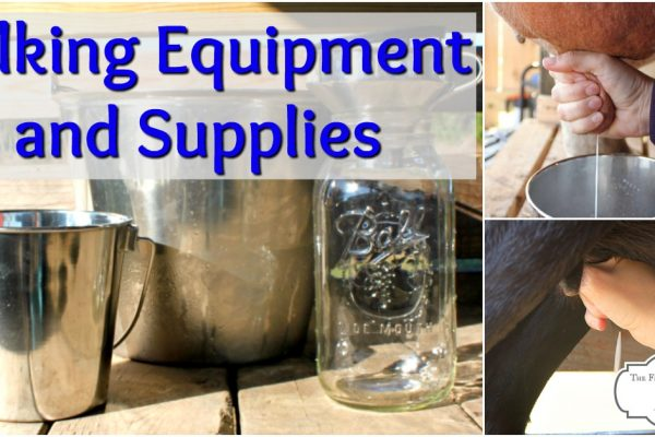 Milking Equipment and Supplies for Milking at Home