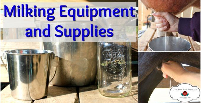 Milking Equipment and Supplies