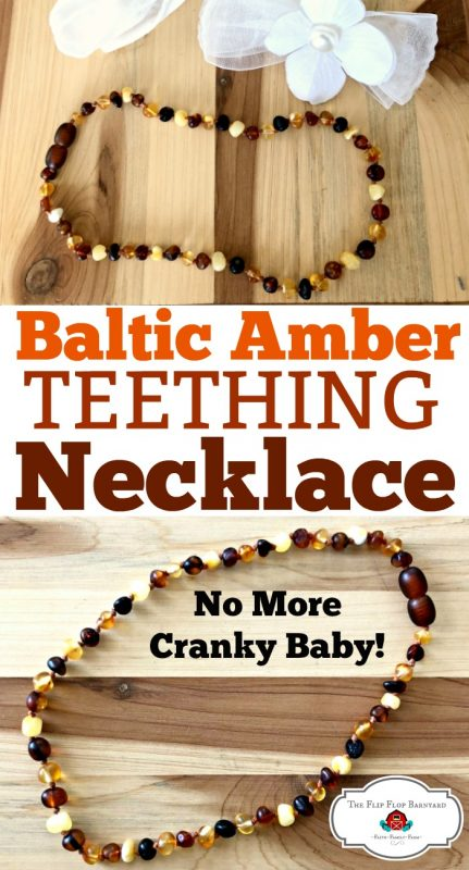 Using a Baltic Amber Necklace for Teething is a great way to relieve a cranky baby. Since wearing an amber teething necklace, my baby has been much happier.